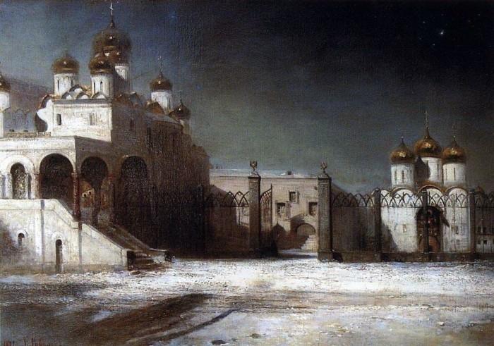 художник Алексей Саврасов картины - 05