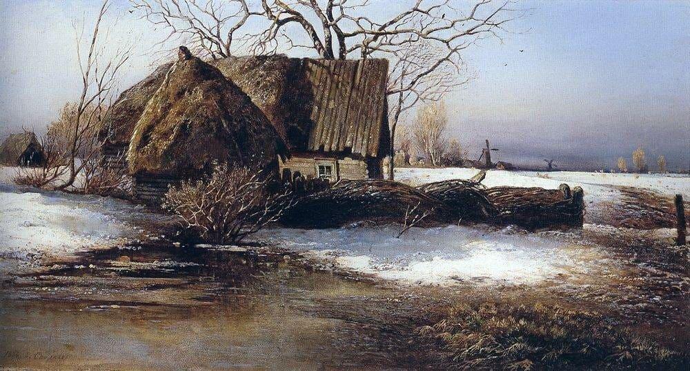Художник Алексей Саврасов (1830 — 1897). Первый среди пейзажистов
