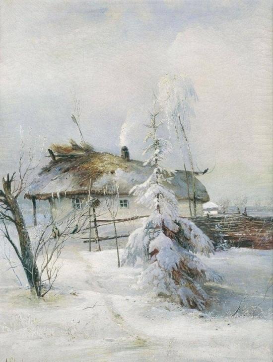 художник Алексей Саврасов картины - 13