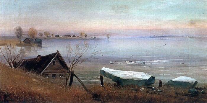 художник Алексей Саврасов картины - 18