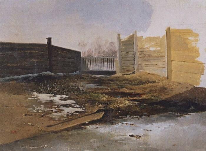 художник Алексей Саврасов картины - 25