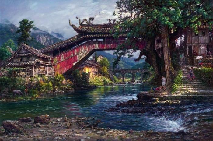 художник Цао Йен (Cao Yong) картины – 31