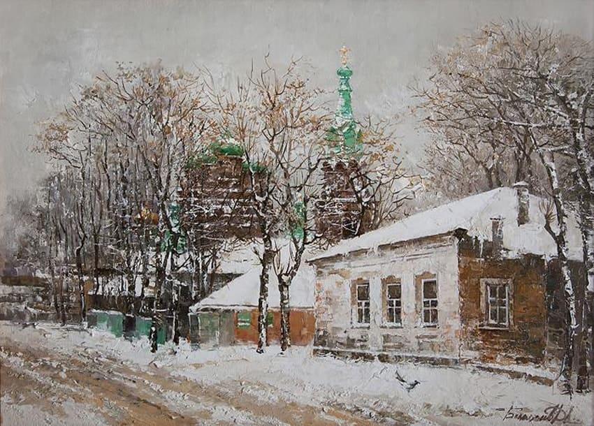 Художник Дмитрий Беломыцев. По улице моей…