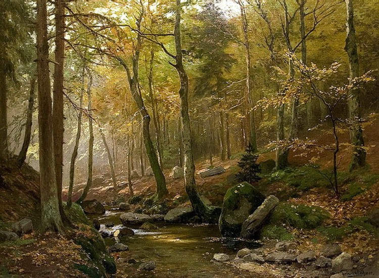 художник Генрих Бёмер (Heinrich Bоhmer) картины - 11