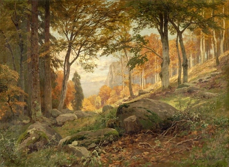художник Генрих Бёмер (Heinrich Bоhmer) картины - 14