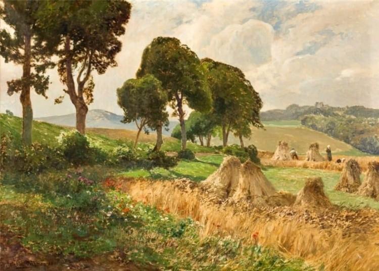 художник Генрих Бёмер (Heinrich Bоhmer) картины - 15