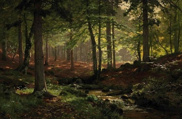 художник Генрих Бёмер (Heinrich Bоhmer) картины - 16