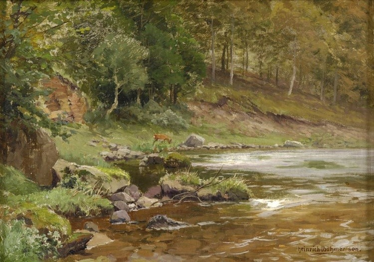 художник Генрих Бёмер (Heinrich Bоhmer) картины - 17