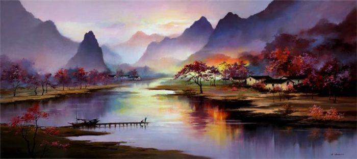 художник Хонг Леунг (Hong Leung) картины – 02