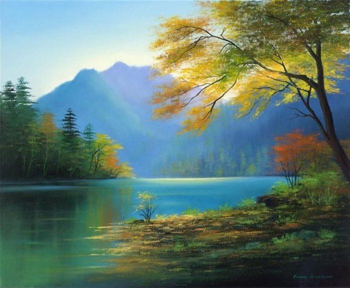 художник Хонг Леунг (Hong Leung) картины – 04