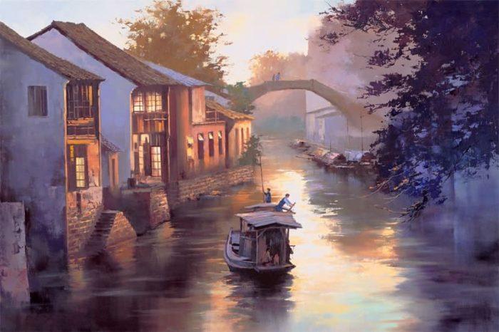 художник Хонг Леунг (Hong Leung) картины – 05
