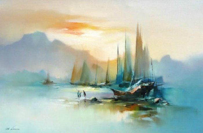 художник Хонг Леунг (Hong Leung) картины – 13
