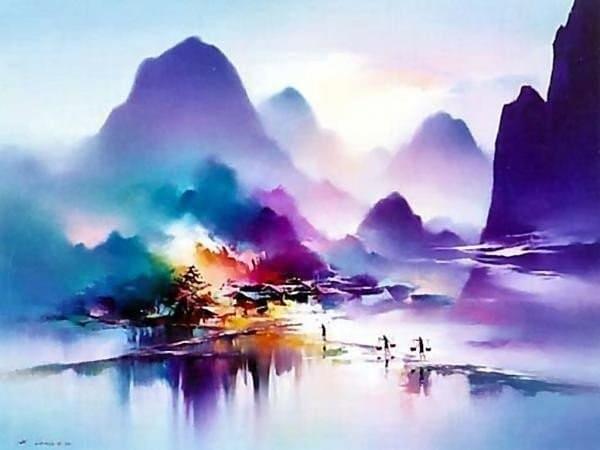 художник Хонг Леунг (Hong Leung) картины – 17