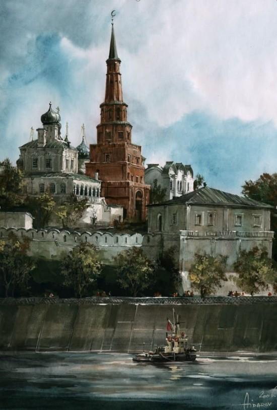 художник Ильяс Айдаров (Ilyas Aidarov) картины – 12