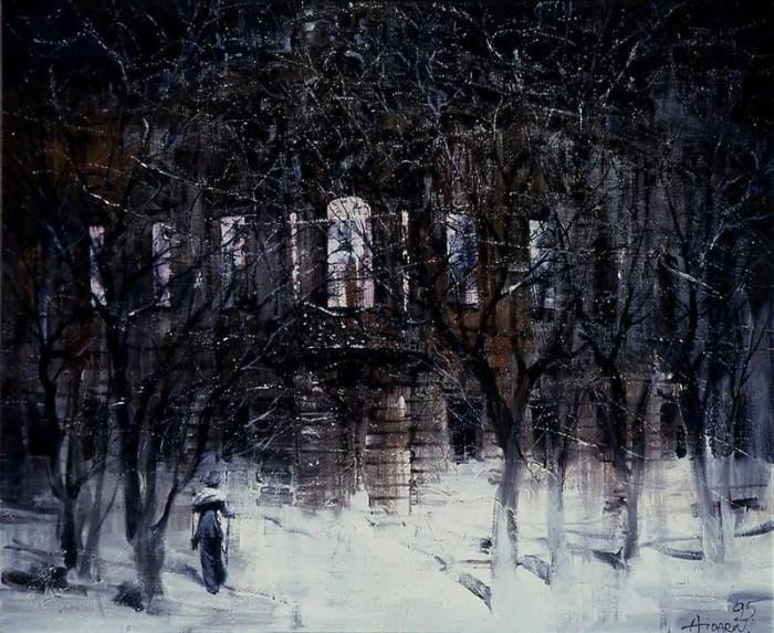 художник Ильяс Айдаров (Ilyas Aidarov) картины – 22