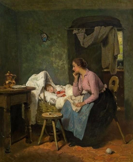 художник Луи Мари де Шриве (Louis Marie de Schryver) - 13