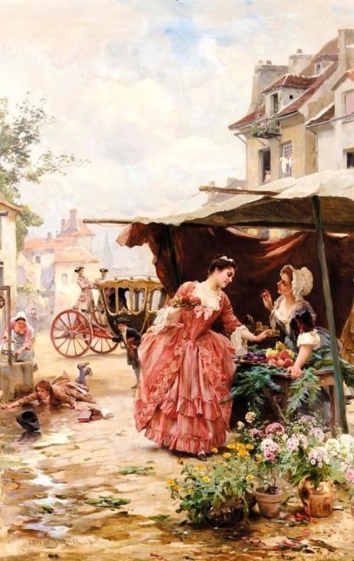 художник Луи Мари де Шриве (Louis Marie de Schryver) - 14