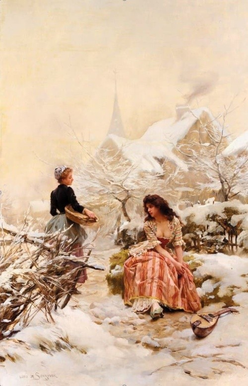 художник Луи Мари де Шриве (Louis Marie de Schryver) - 17