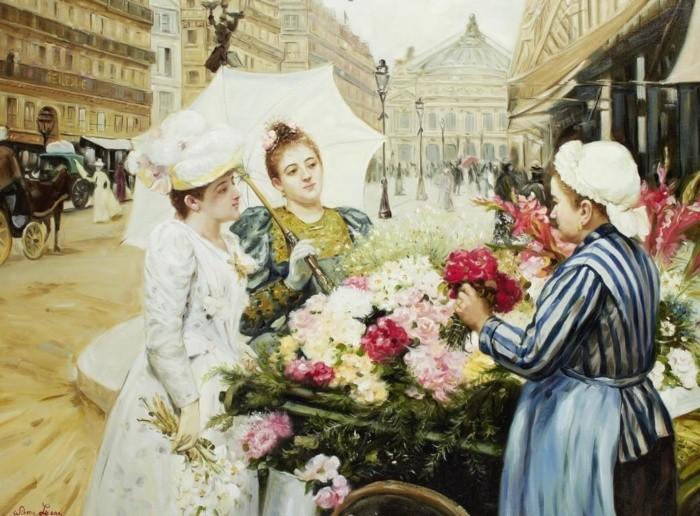 художник Луи Мари де Шриве (Louis Marie de Schryver) - 18