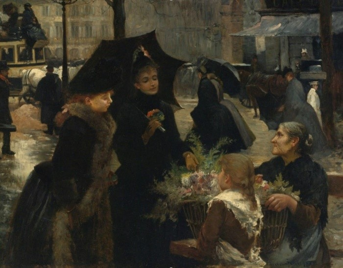 художник Луи Мари де Шриве (Louis Marie de Schryver) - 19