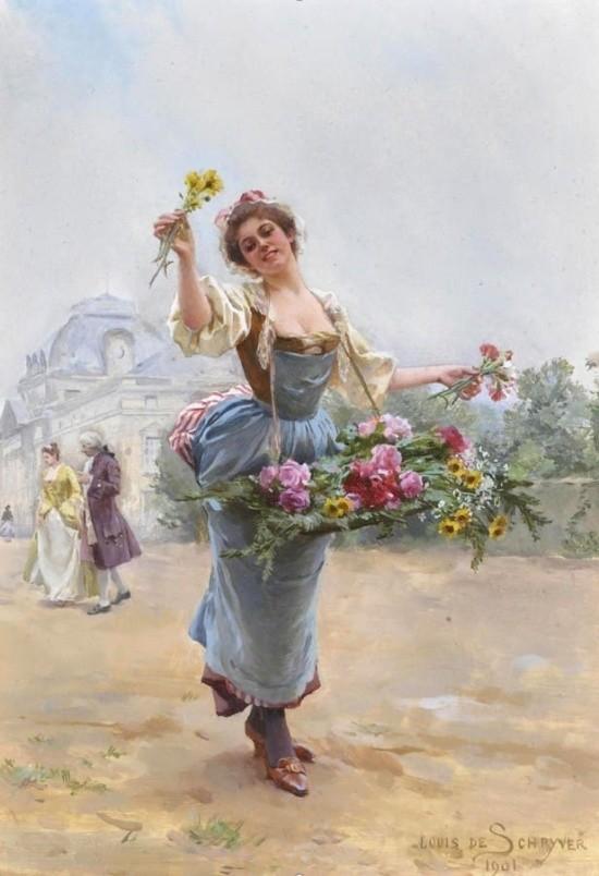 художник Луи Мари де Шриве (Louis Marie de Schryver) - 22