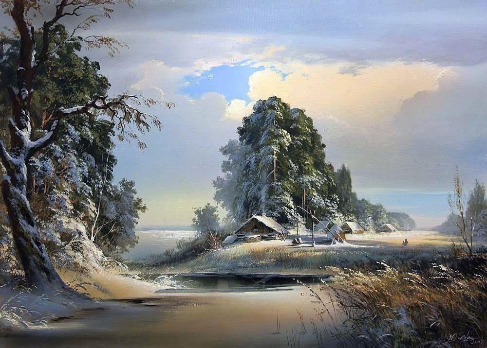 Художник Виктор Юшкевич. Волшебные краски природы