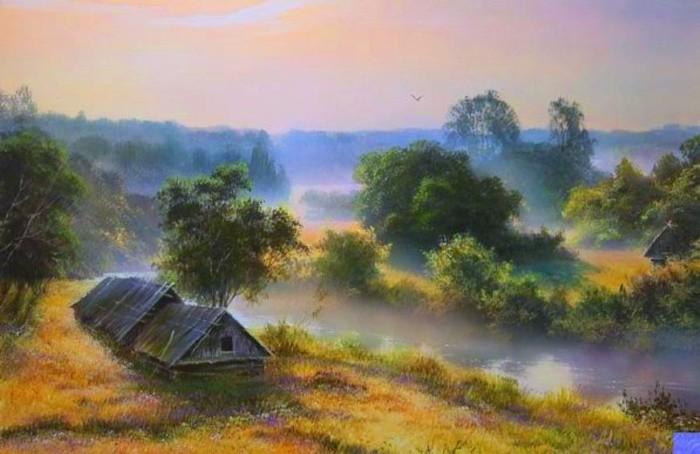 художник Виктор Юшкевич картины - 31