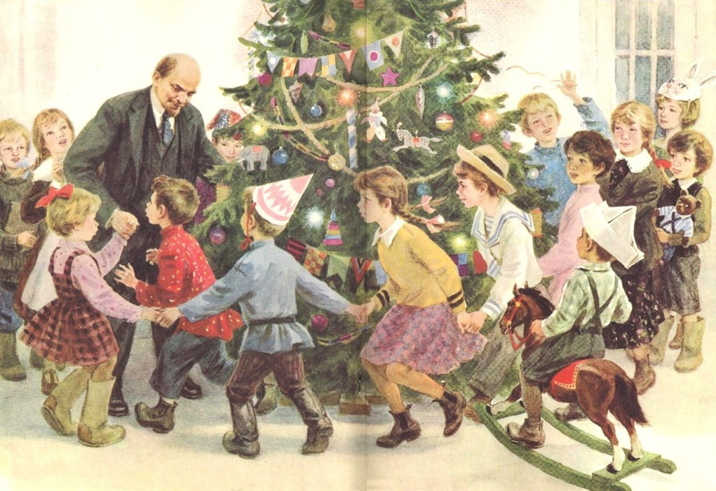 Ленин на елке в Сокольниках.jpg