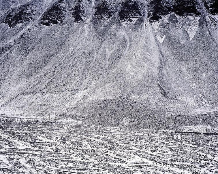 Посёлок Пирамида на архипелаге Шпицберген