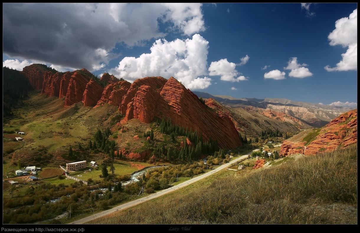 Dzhety Oguz, Kyrgyzstan