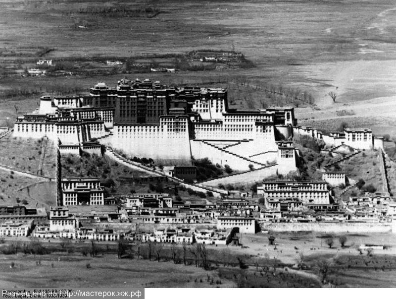 Tibetexpedition, Blick auf Potala