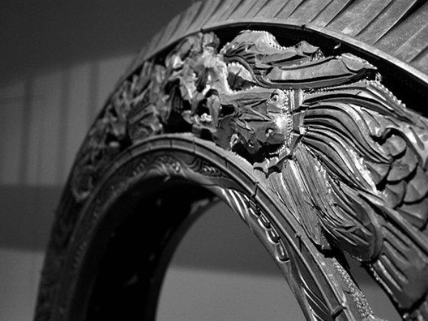 Резьба по автомобильным шинам от художника im elvoye, фото № 13