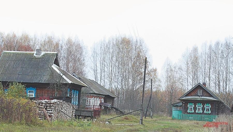 Осенью и зимой в Простоквашино живут только в 5 домах. Остальные пустуют