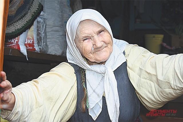 Степанида Корнилова соблюдает все старообрядческие традиции
