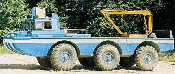 Поисково-эвакуационные вездеходы семейства ЗИЛ-4906 «Синяя птица»