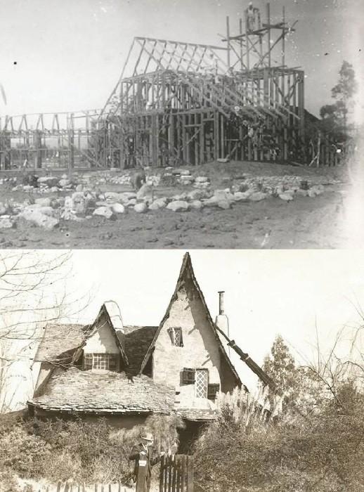 «Ведьмин дом» был построен в качестве декораций к фильмам в 1920-1921 гг.