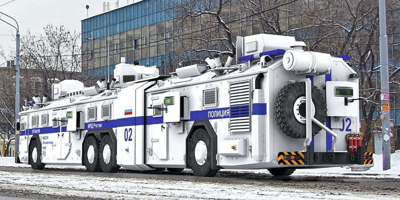 В России придумали автобус быстрого реагирования (БРОНЕБУС)