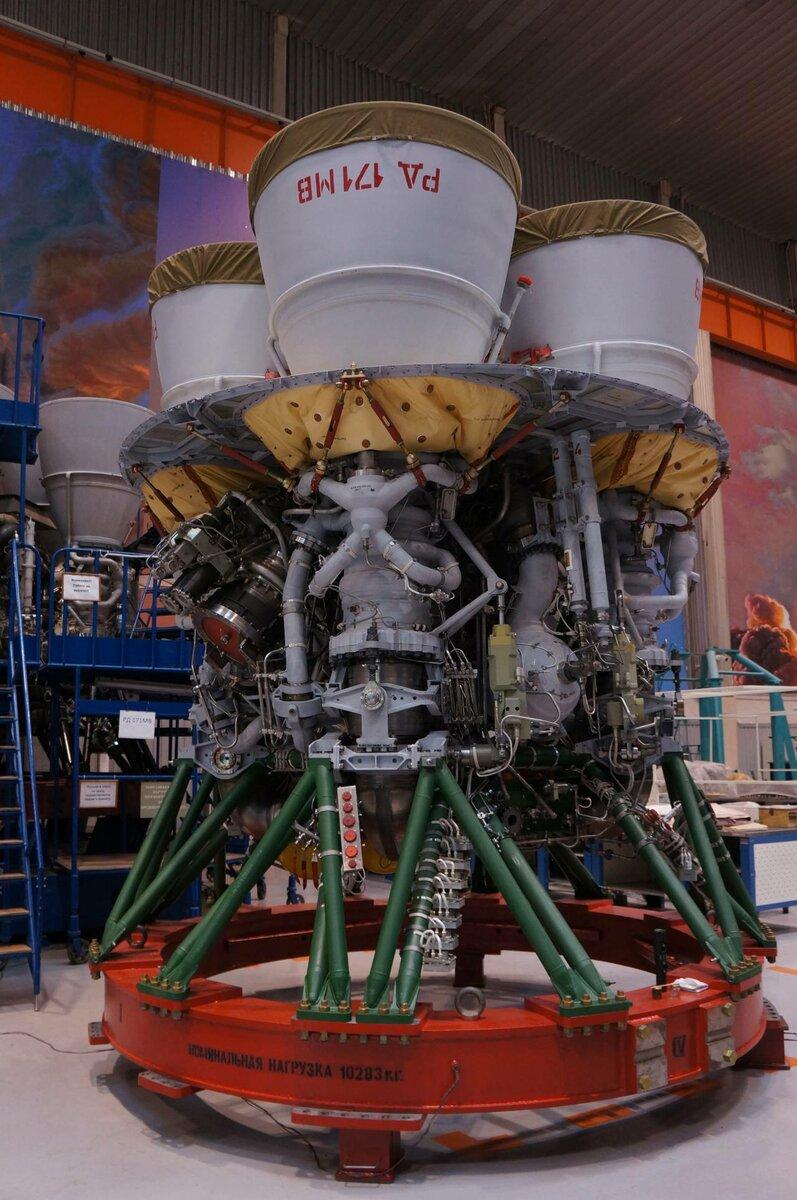 Двигатель РД-171МВ./ Источник фото: Яндекс.Картинки