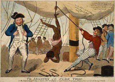 Картинка использовалась в 1792 году во время дебатов об отмене рабства.                            Из  Wikimedia Commons