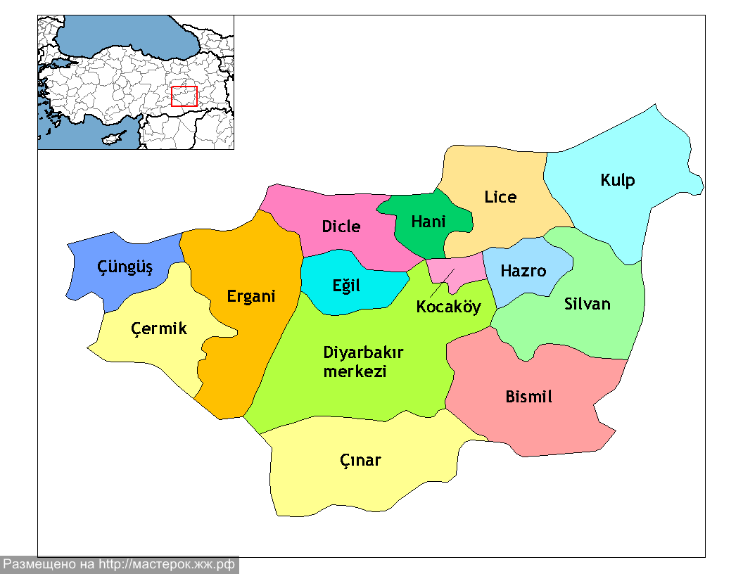 Diyarbakır_districts (Копировать)
