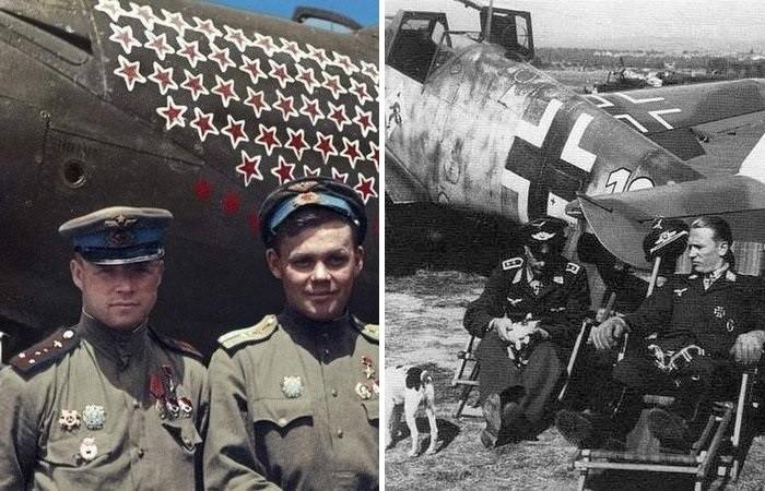Почему немецкие асы сбили больше, чем советские летчики?