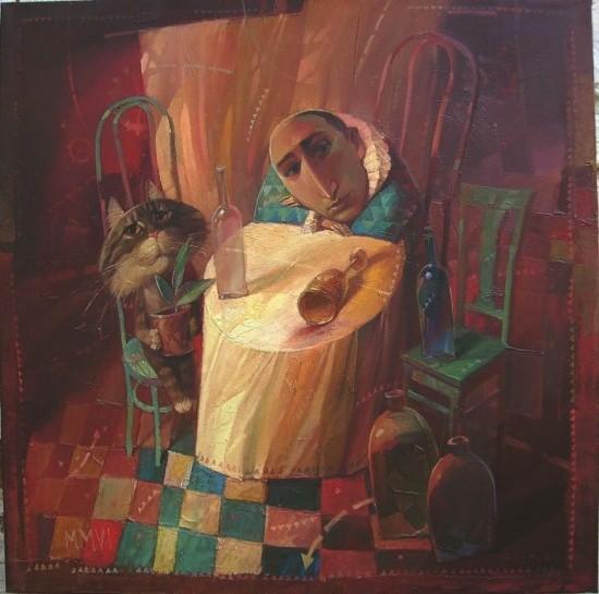 художник Александр Антонюк картины – 30