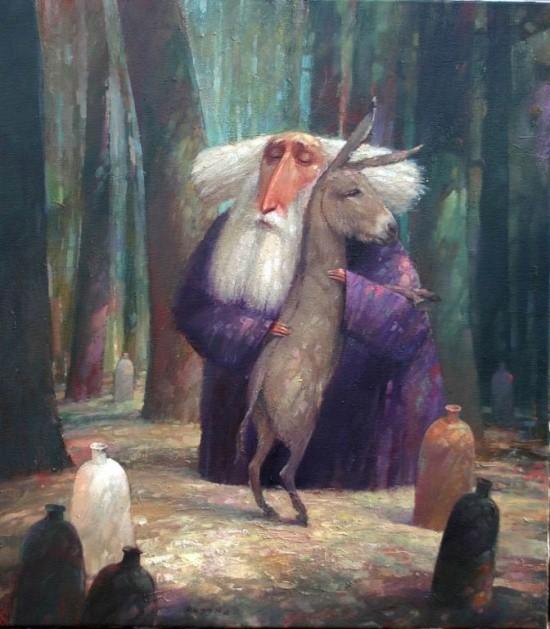 художник Александр Антонюк картины – 33
