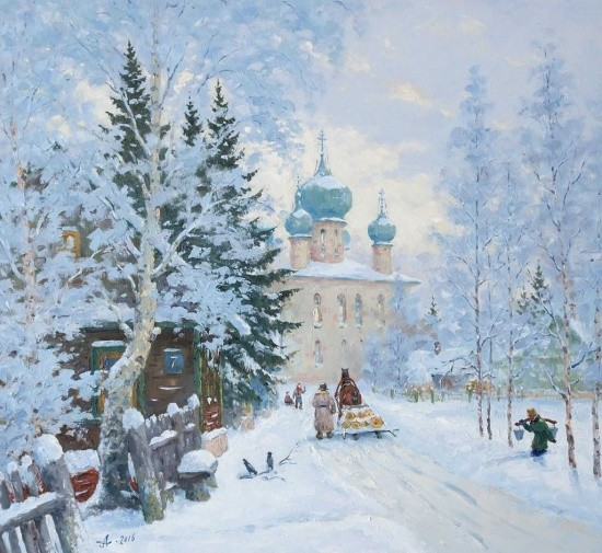 художник Александр Александровский картины – 13