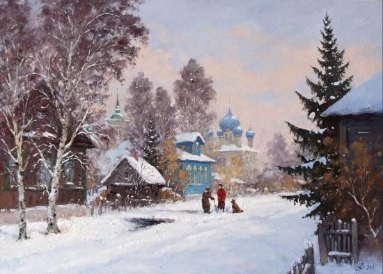 художник Александр Александровский картины – 16