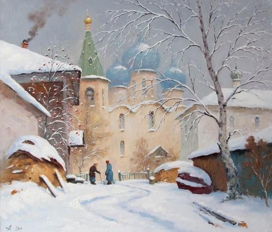 художник Александр Александровский картины – 23