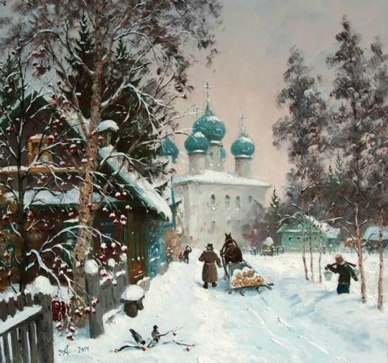 художник Александр Александровский картины – 29