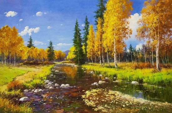художник Андрей Андреевич Шарабарин картины – 30