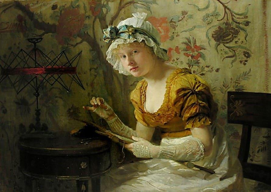 Художник Franz Xaver Simm (1853 – 1918). Академизм и отточенность стиля