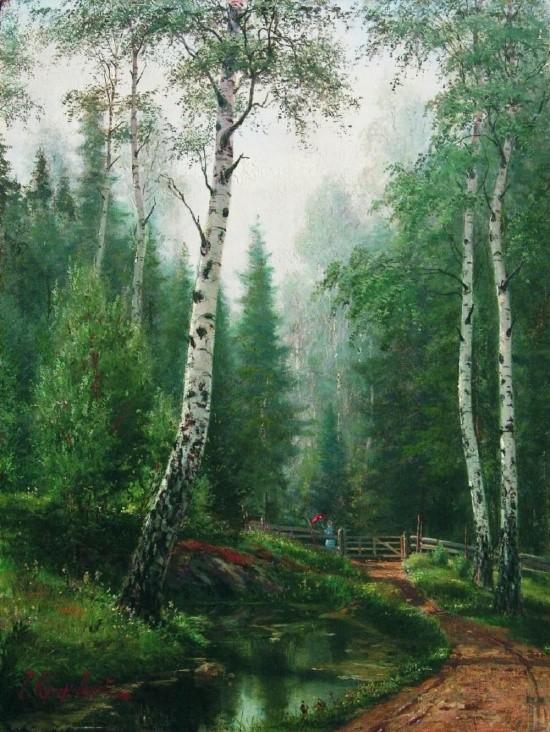 художник Иосиф Крачковский картины – 26